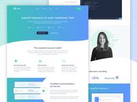 Root Insurance Website Design