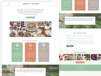Janine's Kitchen Website