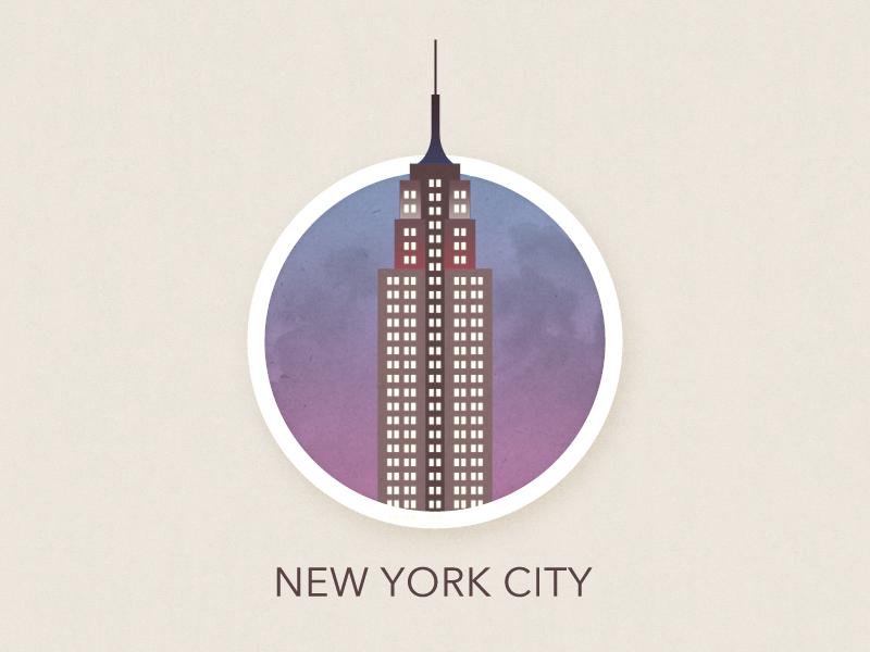 New York City | Rebound new york city nyc vector