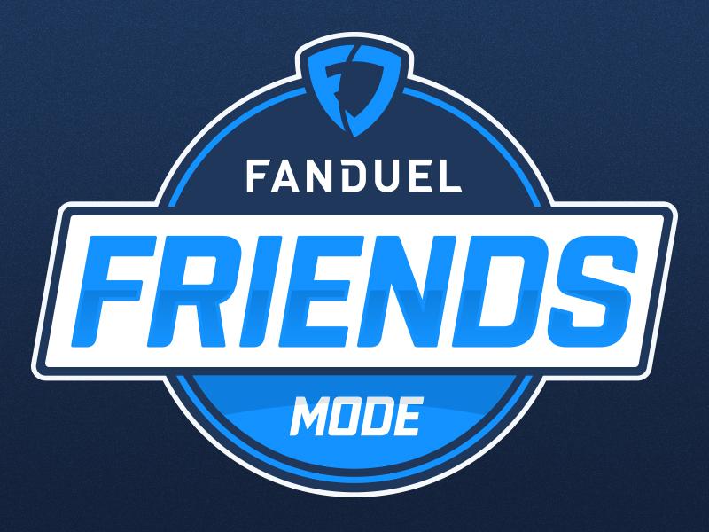 FanDuel Friends Mode sports logo fantasy sports fanduel