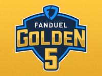 FanDuel Golden 5 Logo
