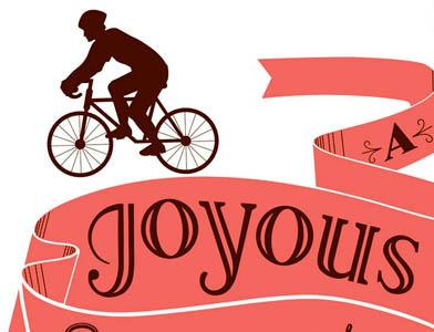 Bike Poster illustration hand lettering typography bikes