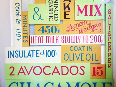 Sign Painting Progress sign painting typography hand lettering food
