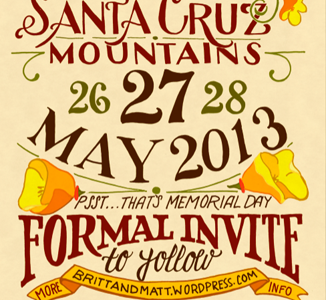 save the date 2 hand lettering illustration typography