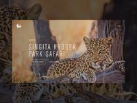 Experiences hero re-design — Singita