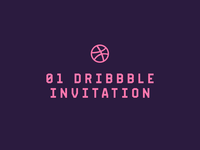 1x Dribbble invitation