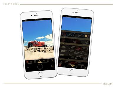 Filmborn® iOS photography app photography interaction design ui design ux design product design app design iphone ios ui chad syme