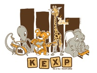 Kexp Animal Band - Final Colorway