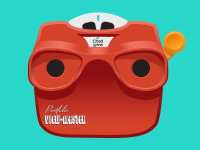 Portfolio Viewmaster viewmaster vector chad syme icon ui portfolio seattle designer
