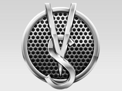 App logo logo app microphone chrome vector illustrator syme chad syme seattle