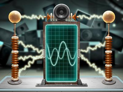 X-Ray Machine xbox voice studio chad syme science laboratory sci-fi retro machine plasma electrical