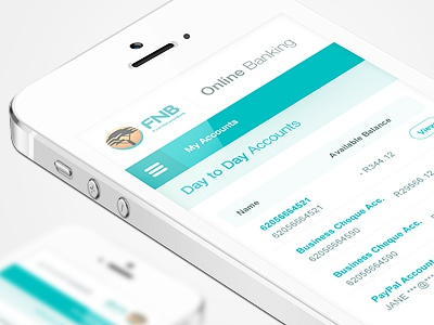 FNB - New Look & Concept by Mocoloco | Dribbble | Dribbble
