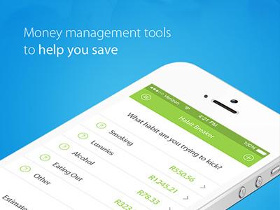 Capitec Bank ~ Mock Concept bank onlinebanking iphone ui ux web design concept