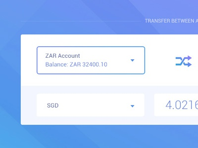 Transfer between accounts