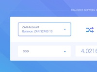 Transfer between accounts