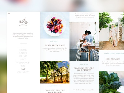 Minimal Concept - Wineries wine magazine babylonstoren cape town wine farm blog