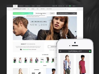 Superbalist Online Shop fashion clothing online shop