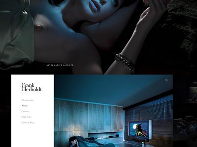 Frank Herholdt Photography portfolio dark minimal photography