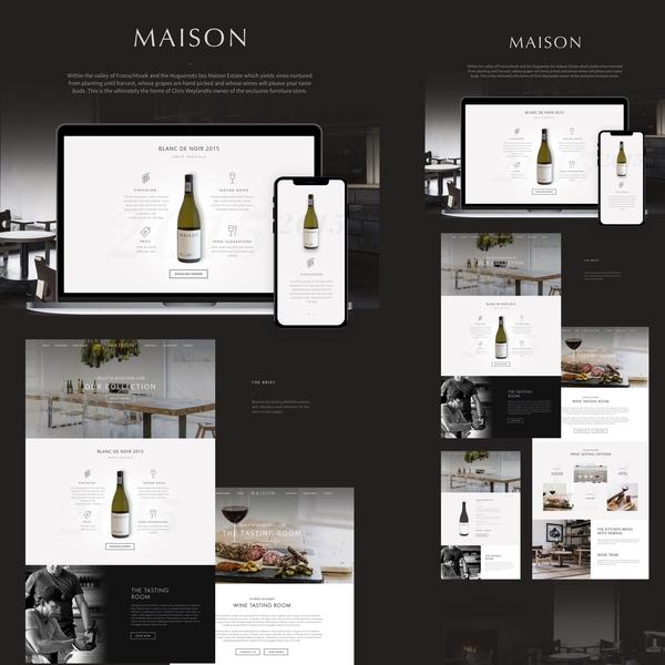 Maison Wine Rework cape town ui maison wine