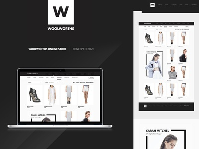 Woolworths Online Shop Concept