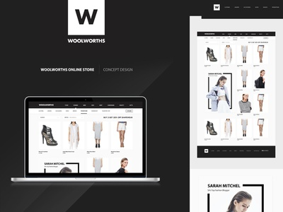 Woolworths Online Shop Concept fashion online shop woolworths