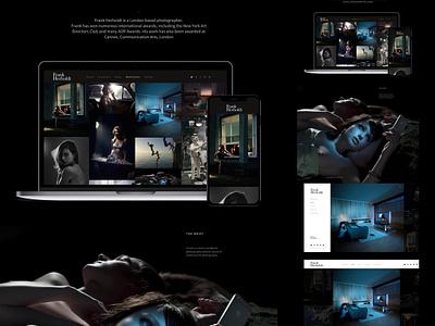 Frank Herholdt Portfolio dark photography art portfolio