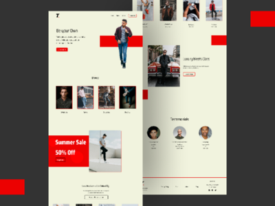 Ecommerce Website for Men's fashion. wordpress web design website design ui design ecommerce website wordpress design wordpress website web designer