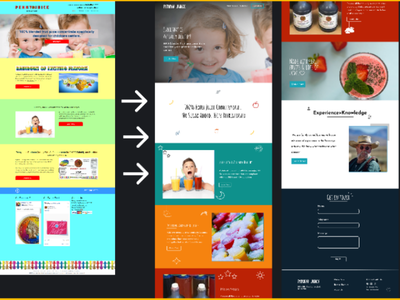 Remake of Penny Juice ui design blog design web dev web development wordpress designer wordpress website web designer web design website design