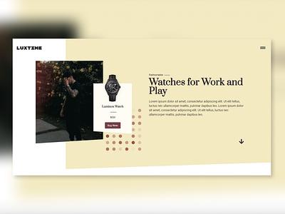 E-Commerce website hero design wordpress website web ui clean visual design landing page creative ux minimalistic animation ui design webdesign website