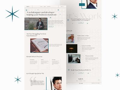 Portfolio Website Design wordpress website website design web design portfolio web design