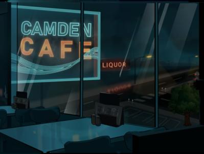 ilustrasi cafe design vector cafe ilustration