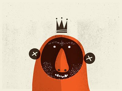 Monster King illustration monster king