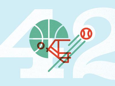 Sportsball 42 illustration sports ball 42