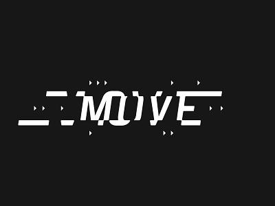 MOVE MOVE MOVE movement type typography