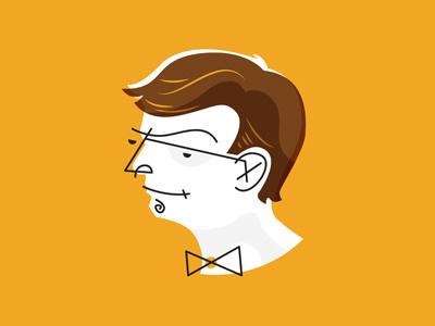 Self Portrait illustration me