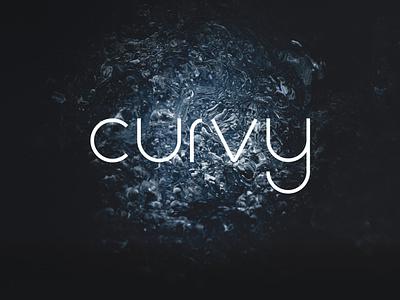 Curvy - Free Font design freebie font free curvy