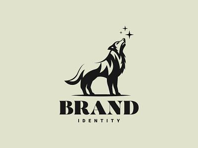 Wolf Logo logotype geometric art illustration wolfpack vector logo branding graphic design logo logo design minimalist logo animal logo logodesign wolf logo wolf