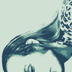 Brian Eno adobe fresco vector illustration design