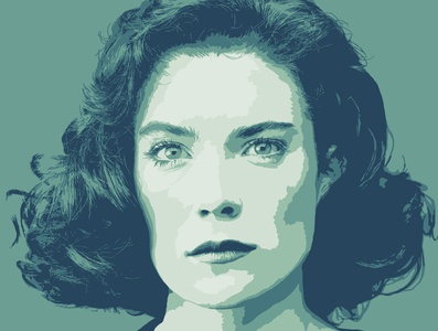 Donna Hayward adobe fresco vector illustration design