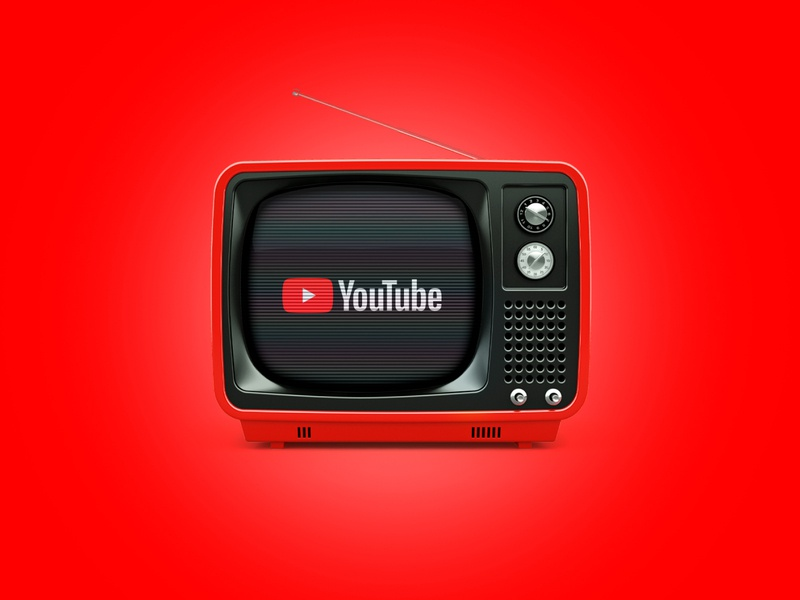 Youtube - Once Appon a Time tv youtube apps branding retro design advertising vintage graphicdesign design retro creativity