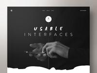 Ui designer portfolio concept hi res