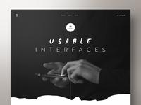 UI Designer — Portfolio Website