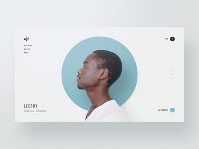 Designer Profiles — Part 3 website webdesign web design typography template simple profile portfolio minimal layout clean bootstrap