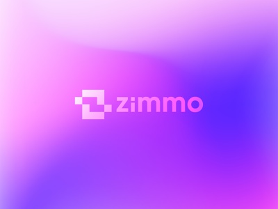 Logo Design for zimmo | z letter logo clean creative logo logotype simple popular logo popular colorful app logo z logo icon design logos identity design gradient logo logo mark logo vector modern logo flat logo design branding