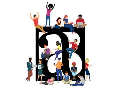 Better Allies: Creating Inclusive, Engaging Workplaces illustrator illustration people illustration coworkers people logodesign logo workplace creative diversity diverse better allies