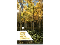 Fall 2019 Meal Groups Booklet