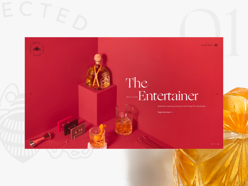 Patrón Gift Guide — 01 patrón isometric tequila responsive añejo old fashioned host entertainer holiday website gift guide cocktails archetypes
