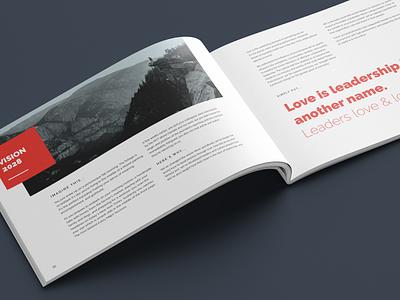 Deviate Culture Book 03 values spread performance coaching graphic design ethos deviate culture coaching brochure branding book