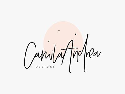 CamilaGarzon Logo Design feminine logo dainty branding minimal logodesign logo