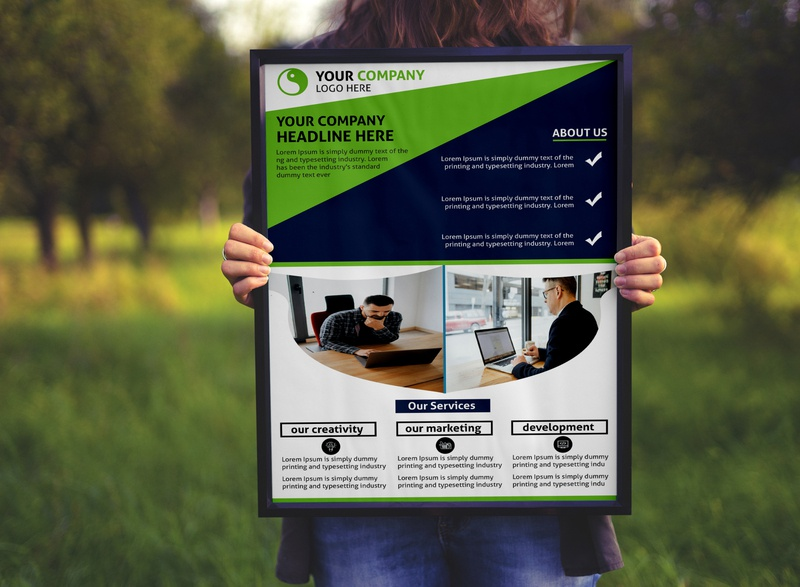 TRENDING, CORPORATE FLYER DESIGN . luxury creative print corporate sell residence realtor flyer realtor property promotion